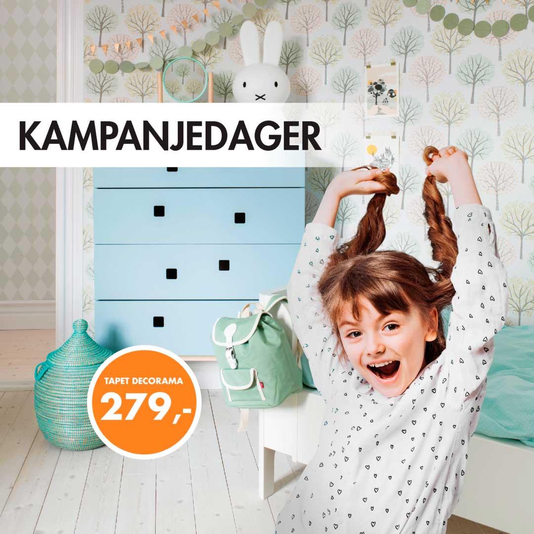 Tilbud på DEcorama tapet fra Borge hos Happy HOmes