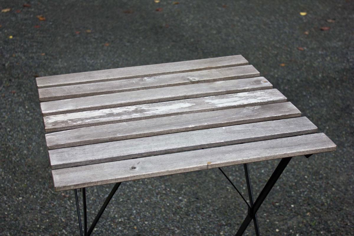 Male cafebord-bilde før