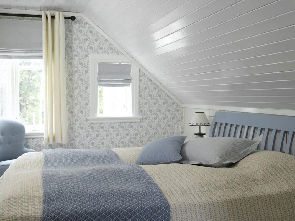 Tapet på hytta- happy homes