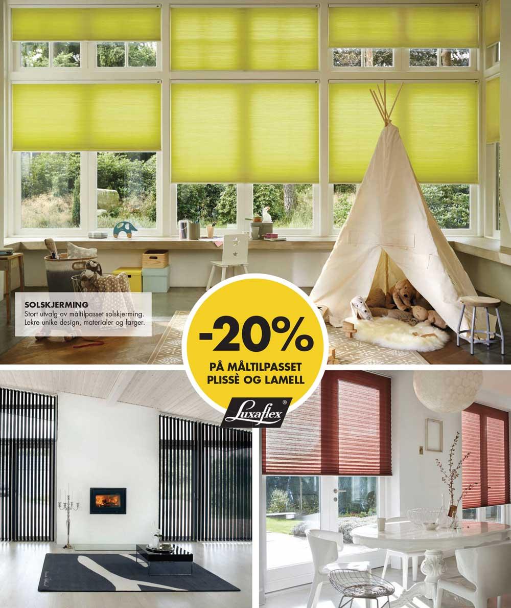 Tulbus på solskjerming fra Luxaflex- happy homes
