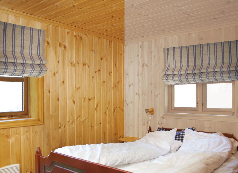 Lysne panelt på hytta-happy homes