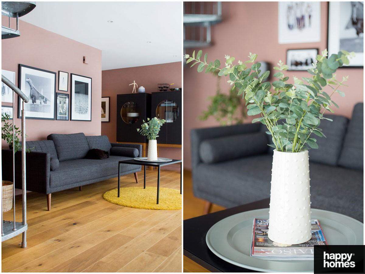 Innred med nabofarger- inspirasjon stue - Happy Homes Norge