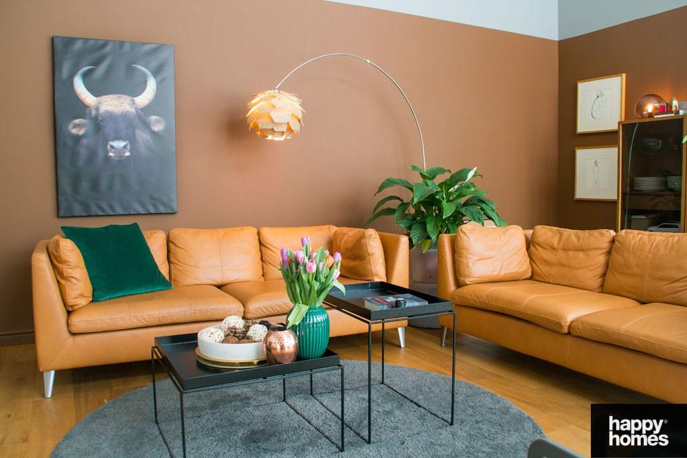 Stue interiør med Happy Homes