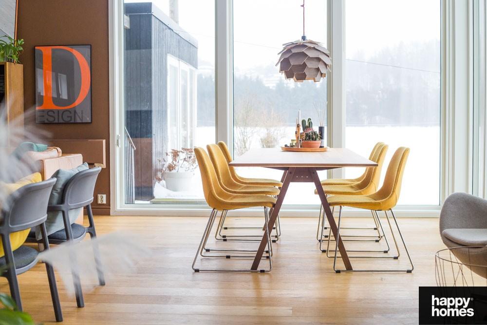 Unike Innred med nabofarger- inspirasjon stue – Happy Homes Norge ZJ-08
