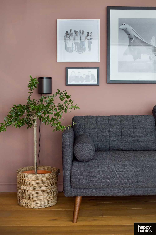 Interiør stue med Happy Homes