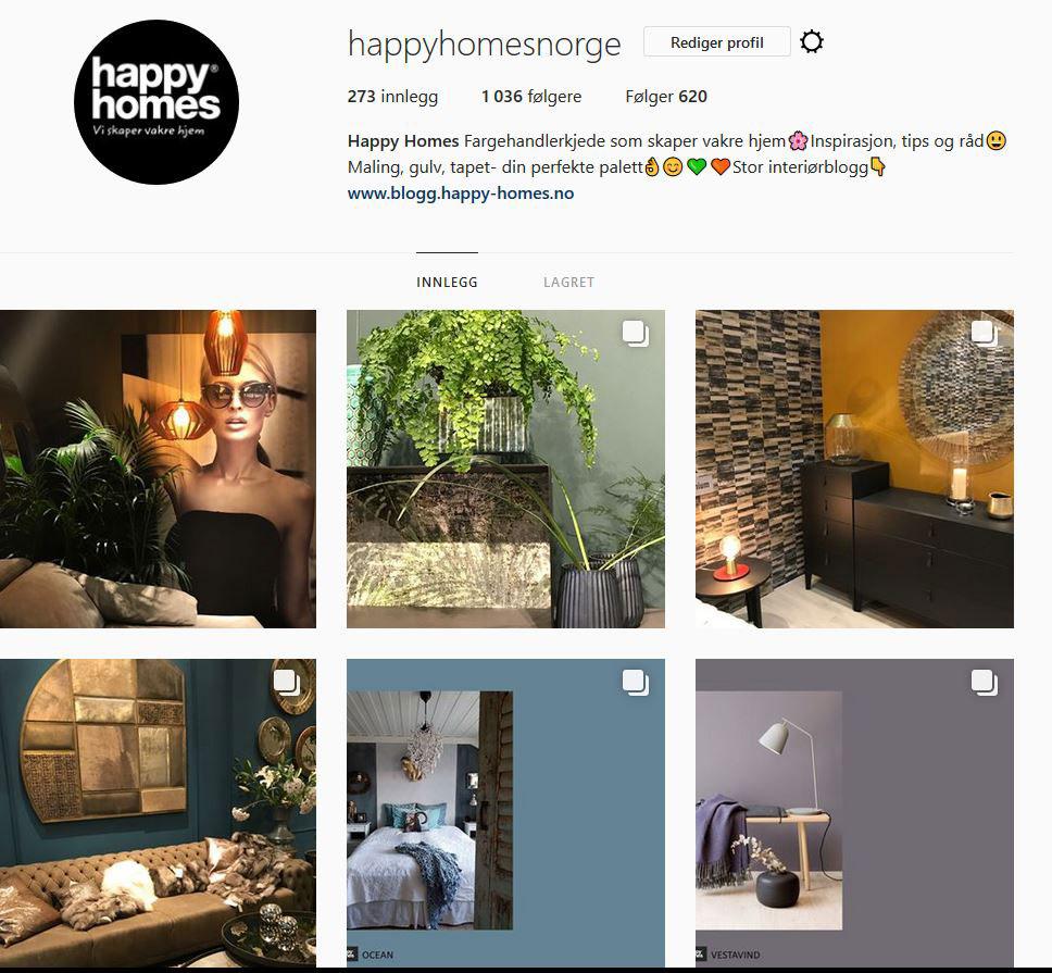 Happy Homes på instagram