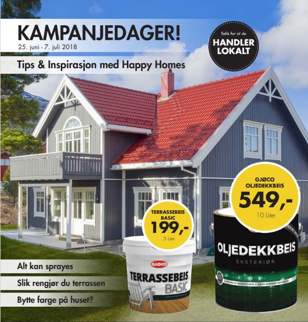 Kampanjedager happy-homes